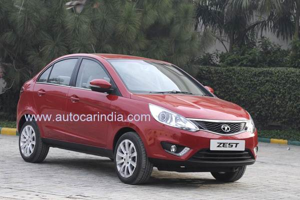 Tata Zest compact sedan first look review