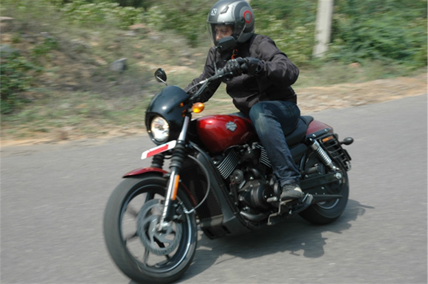 Harley Davidson Street 750.