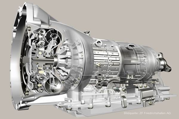 ZF 6-speed gearbox