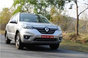 Renault Koleos automatic facelift review, test drive