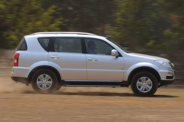 SsangYong Rexton RX6 review, test drive