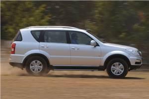 SsangYong Rexton RX6 review, test drive