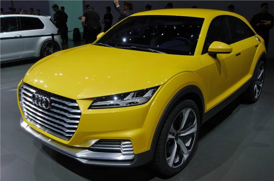 Audi TT offroad concept.
