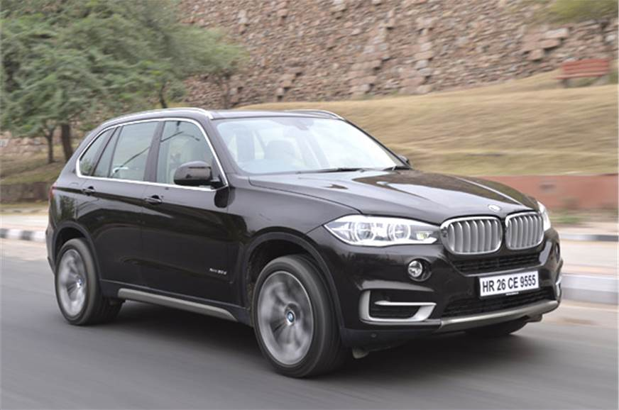 New BMW X5 SUV.