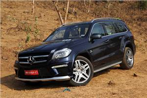 Mercedes GL 63 AMG review, test drive