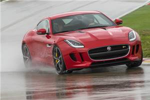 Jaguar F-type coupe review, test drive