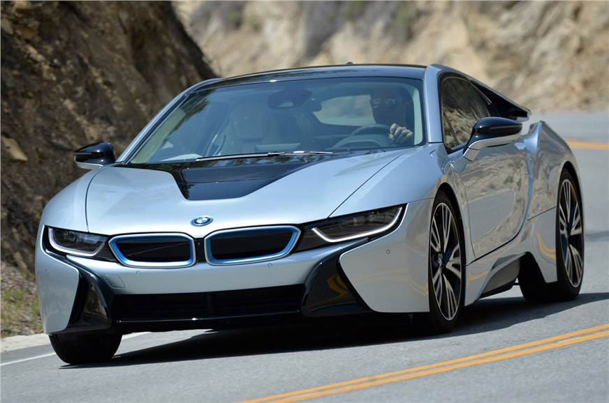 BMW i8 production version.