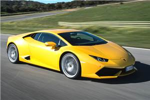 Lamborghini Huracan review, test drive