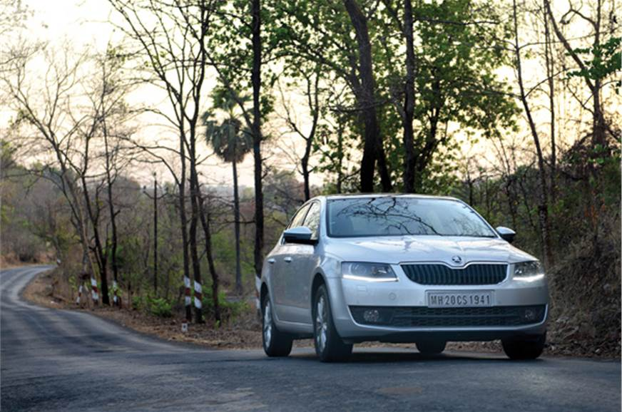On open roads, the Octavia simply begs you to drive faster.