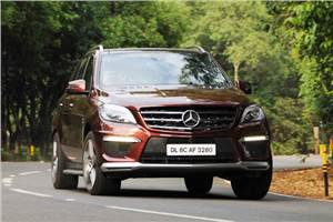 Mercedes-Benz ML 63 AMG review, test drive