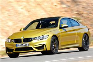 New BMW M4 coupe review, test drive