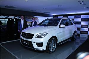 Mercedes-Benz ML 63 AMG launched at Rs 1.5 crore