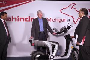 Mahindra to export electric two-wheelers from US