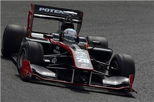 Narain qualifies eighth at Super Formula Fuji