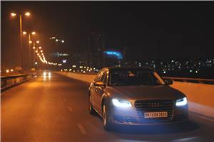 Audi A8 L facelift India review, test drive