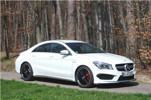 Mercedes CLA 45 AMG review, test drive