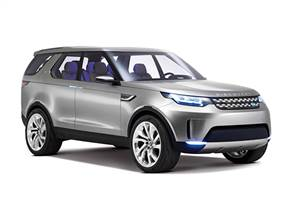 Land Rover Discovery Vision concept gets more tech, style
