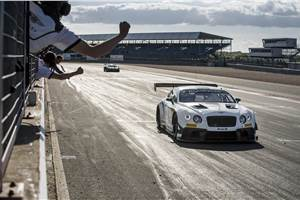 New Bentley Continental GT3 clinches Silverstone victory