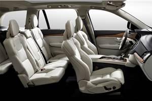 New Volvo XC90 SUV interiors revealed