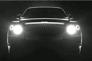 Bentley releases video on upcoming SUV's styling