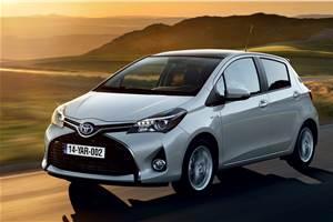 Toyota Yaris facelift unveiled