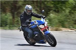 Triumph Speed Triple review, test ride