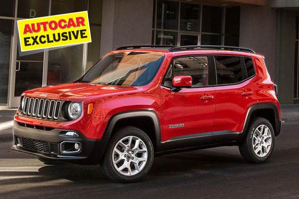 Jeep to bring Renegade to India in future.