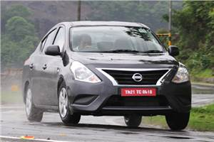 Nissan Sunny facelift review, test drive