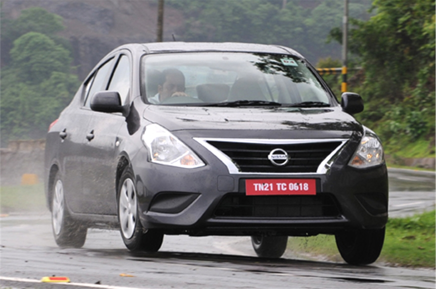 Nissan Sunny facelift.