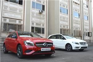 2014 Mercedes-Benz A-Class, B-Class Edition 1 review, test drive