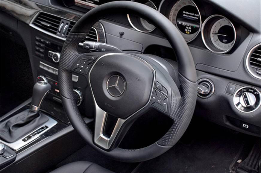 Hydraulic power steering is full of feel.