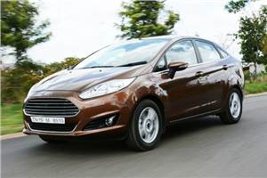 Ford Fiesta facelift review, test drive