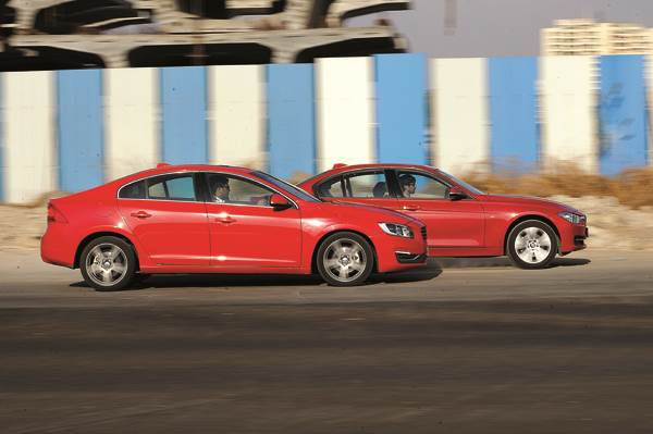 Volvo S60 Vs Bmw 320d Feature Autocar India