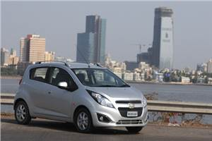 Chevrolet Beat diesel facelift review, test drive