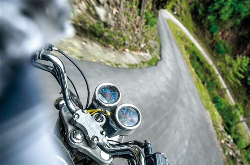 Bhutan's full of epic motorcycling roads.