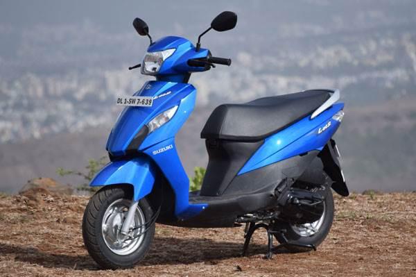 Suzuki Lets Vs Yamaha Ray Feature Autocar India