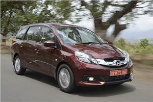 2014 Honda Mobilio India review, test drive