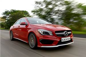 Mercedes-Benz CLA 45 AMG India review, test drive