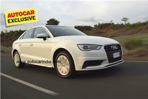 Audi A3 petrol India review, test drive