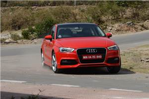 Audi A3 diesel India review, test drive
