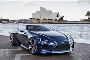 Production coupe to be based on Lexus LF-LC concept