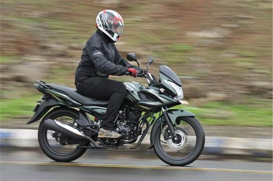 Bajaj Discover 150F.
