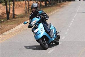 TVS Scooty Zest 110 review, test ride