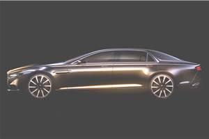 Aston Martin Lagonda sedan coming next year