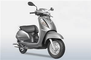 Upgraded Suzuki Access launched at Rs 56,459