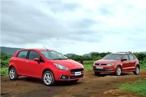 Fiat Punto Evo vs Volkswagen Polo TDI comparison