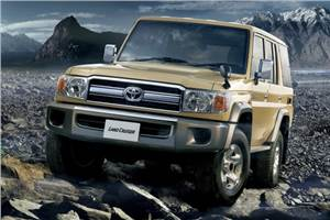 Toyota re-launches Land Cruiser 70 in Japan