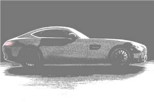 Mercedes AMG GT nears completion