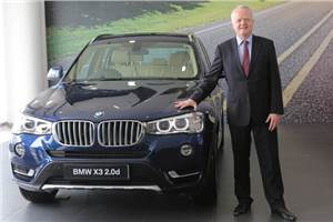BMW X3 facelift launched at Rs 44.90 lakh