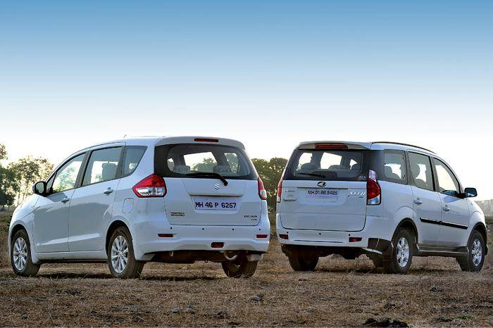 In most MPV's with third row seats, your head is just inches away from the rear windscreen.